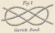 wedding knot carrick bend