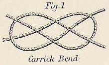wedding knot carrick bend