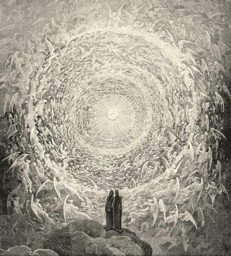 The Empyrean, Divine Comedy, Gustave Dore